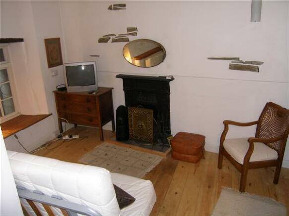 Basement Lounge Area