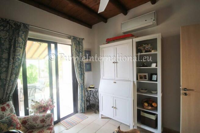 downstairs bedroom/dining room