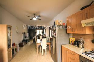 open plan kitchen - living area