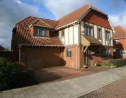 Detached home for sale in Bittern Close, Hawkinge...
