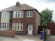 semi detached property in Grosvenor Avenue, Sawley...
