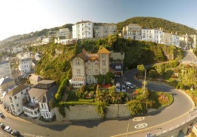 Drone shot of St ...
