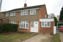 semi detached home to rent in Meadow View Road, Sudbury