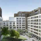 3 bed new Apartment in Rathbone Square...