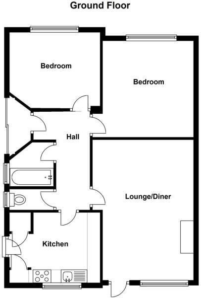 Floor Plan. 58 Park