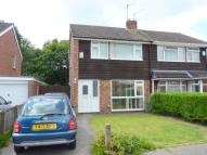 semi detached property to rent in Sutherland Drive, Eastham