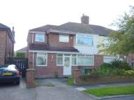 semi detached home to rent in Firs Avenue, Bebington...