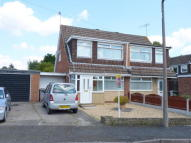 semi detached home in Bramhall Drive...