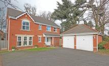 Detached home for sale in The Firs, Leicester