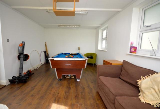 Outhouse/Games Room