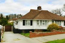 Bungalow in Waddington Way...