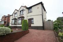 semi detached house in Lower Milehouse Lane...