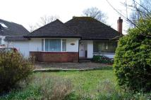 Woodhayes Avenue Detached Bungalow to rent
