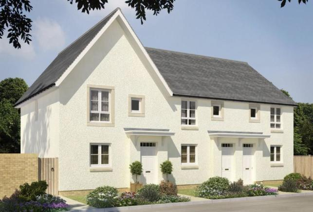 3 bedroom semi detached house for sale in standhill farm for Brodie house plan