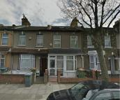 Terraced house in Colegrave Road, London...