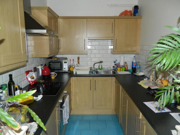 modern re-fitted kitchen