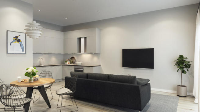 1 bedroom apartment for sale in Queens Row Warehouse