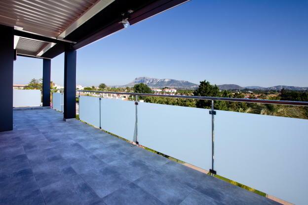 southfacing terrace