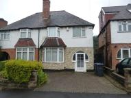 3 bed property in Park Hill Road, Harborne...
