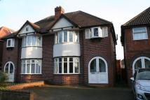 semi detached property in Vera Road, Yardley...