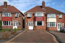 semi detached property for sale in Vibart Road, Yardley...