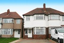 3 bedroom semi detached home in Corville Gardens...
