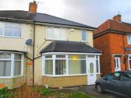 3 bed semi detached house in Northanger Road...