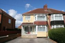 3 bedroom semi detached home in Partridge Road, Yardley...