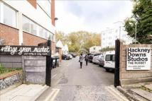 property to rent in Sth Yellow Hall, Hackney Downs Studios, Amhurst Ter, London, E8