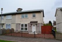 semi detached home for sale in Moredun Street...