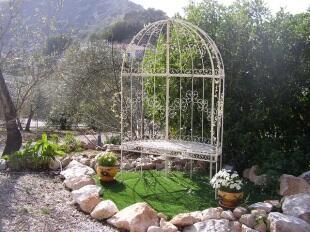 jardin y vistas