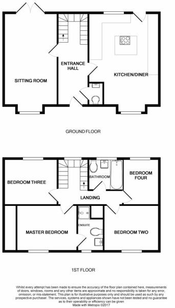 Floor Plan 1 Pointers Way.JPG