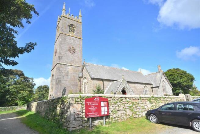 Crowan Church nearby