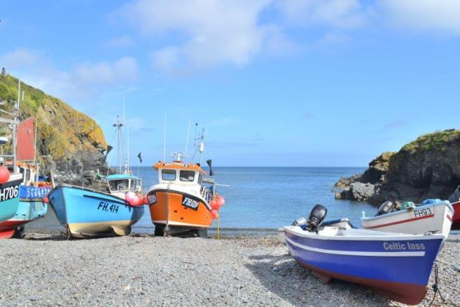 Nearby Cadgwith Cove