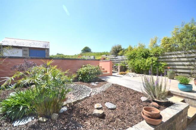 Front garden aspect.