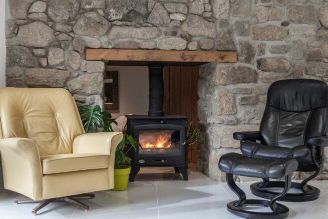 Kitchen, Fireplace.j