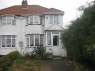 3 bed semi detached property for sale in Parkdale Road, Sheldon...
