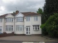 5 bed semi detached property in Cranes Park Road...