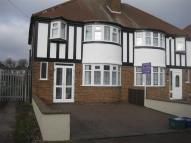 semi detached house for sale in Farnol Road, Sheldon...