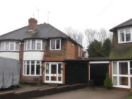 semi detached property for sale in Olorenshaw Road, Sheldon...