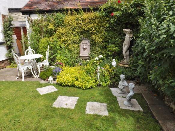 Well presented garden