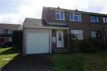 3 bed semi detached property in Penhale Meadow, St Cleer...