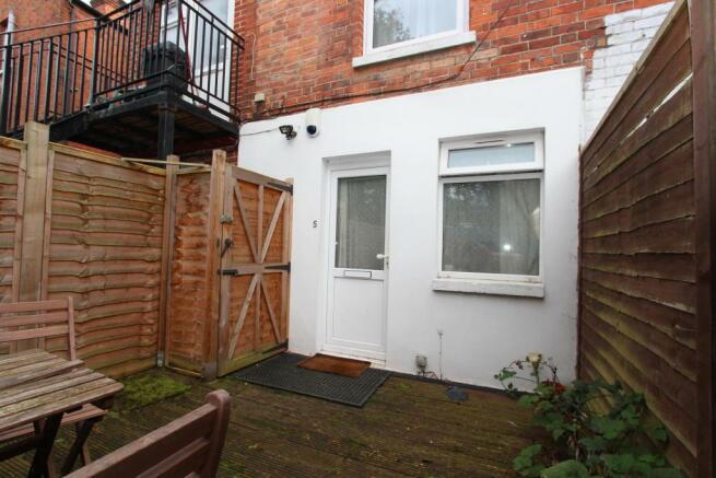 Garden/Flat Entrance