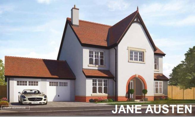 4 Bedroom Detached House For Sale In The Jane Austen Plot 9 Chapters Dinas Powys Cf64 4hg Cf64