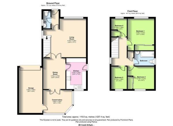 Floor Areas.