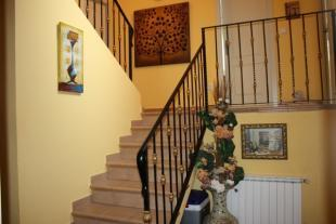 decorative staircase to first floor