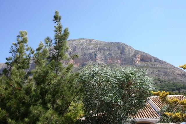 views to Montgo mountain