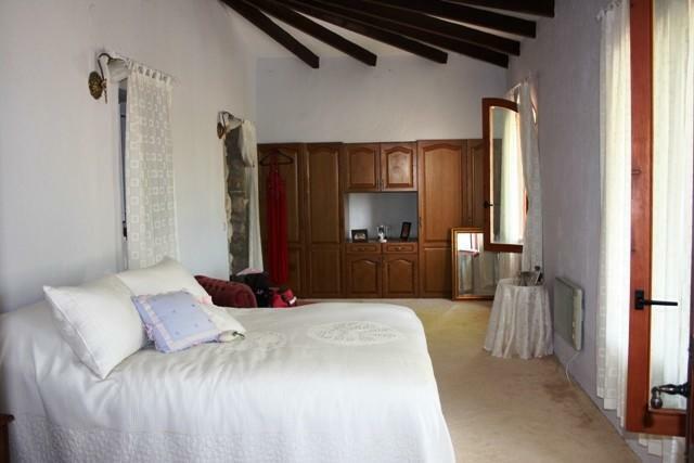 spacious master bedroom with en suite bathroom