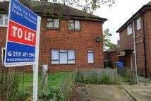 2 bedroom semi detached property to rent in KEATS AVENUE, Blyth, NE24