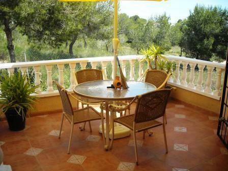 Balcony off of lounge